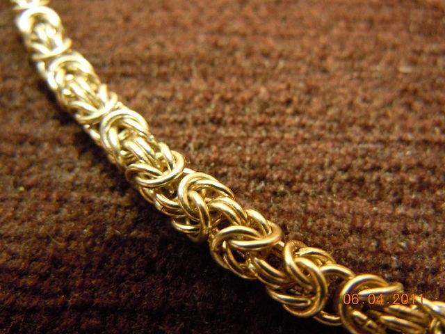 Плетение цепочки империал