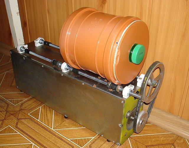 Галтовочные барабаны своими руками 720
